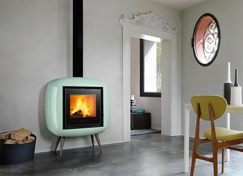 Stufe e radiatori voglia di vintage casa design - Stufe a pellet design ...
