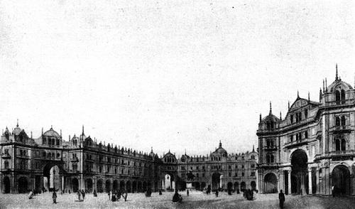 Giuseppe Pestagalli, Progetto per piazza del Duomo, 1862