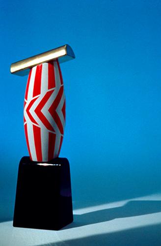 Ambra Dolce, vaso in ceramica, Design Gallery Milano, 1993