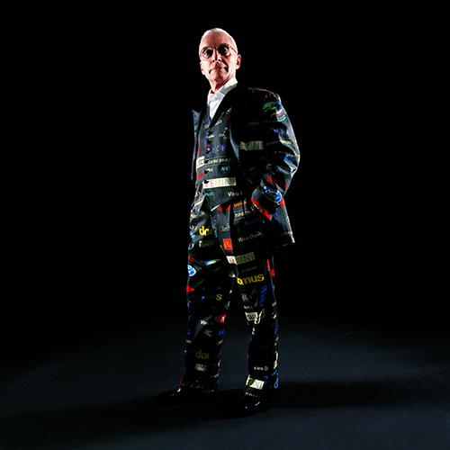Abito del designer , abito per Alessandro Mendini, Etro 2003