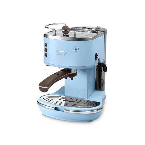 Icona vintage di De Longhi può essere usata sia con caffè in polvere (1 o 2 tazze) che con le cialde