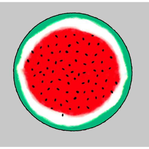 """Paola Navone ha dato vita a una curiosa famiglia di oggetti allegramente ispirati all'Italia. Tra questi """"Frutto d'Italia"""": un'anguria - tipicamente bianca, rossa e verde - che diviene cuscino."""