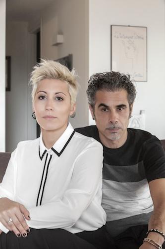 Malika Ayane ci accoglie con il marito e regista Federico Brugia
