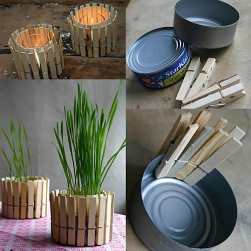 Come realizzare un portacandela o un vasetto per le piante