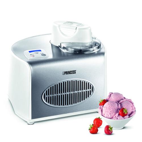 Ice Cream Maker di Princess, la macchina per il gelato completamente automatica per preparare gelati alle creme o allo yogurt, sorbetti e slush. In soli 50 minuti 1,5 litri di gelato, € 309