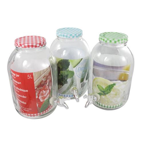 Maiuguali, barattolo in vetro (capacità 5 litri) con tappo in metallo, € 30