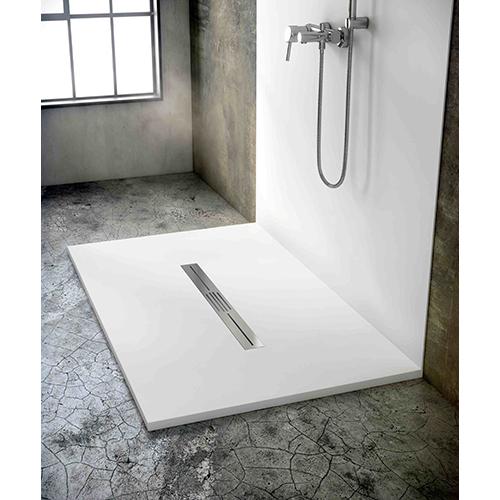 Piatto doccia la tendenza lo vuole urbano casa design - Piatto doccia incassato nel pavimento ...