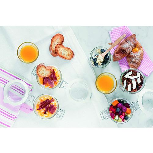 Che sia dolce o salata la colazione è un piacere anche per gli occhi