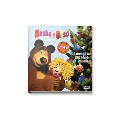 """""""Il magico Natale di Masha"""" edito da Fabbri Editori, 8,90 euro. Per bambini dai 3 anni"""