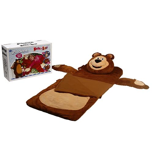 Giochi Preziosi presenta il buffo Orso in versione Pisolone; la testa si stacca e diventa un grande e morbido cuscino. Prezzo consigliato 89,99 euro