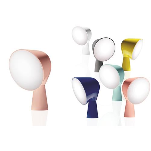 La lampada Binic di Foscarini si tinge di nuove tonalità. I colori si ispirano alle nuance protagoniste del 2016 secondo Pantone: Rosa Quartz e Serenity. Disegnata da Ionna Vautrin, costa 145 euro