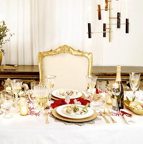 Anche Zara Home sceglie l'oro creando un'atmosfera sofisticata e preziosa