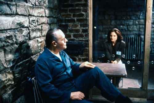 Anthony Hopkins e Jodie Foster nel film che ha valso a entrambi un Oscar come miglior attore e attrice protagonista