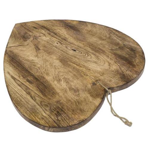 Per servire salumi e formaggi il tagliere in legno di Novità Home (19,50 euro)