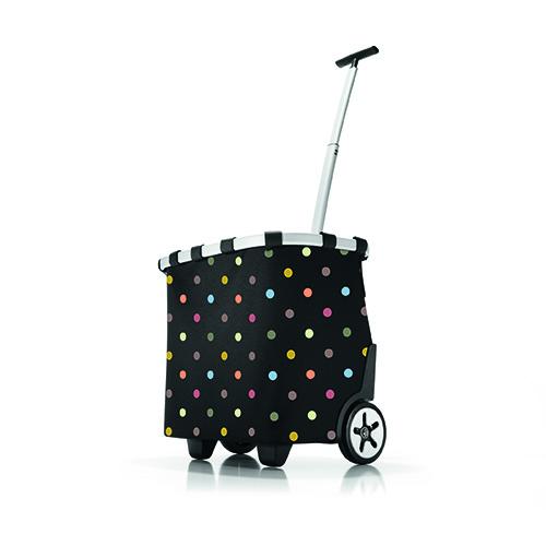 Per trasportare tutto il necessario con comodità: Carrycruiser di Reisenthel è un utile carrello multifunzione con ruote (129 euro). Disponibile anche nella versione termica (149 euro)
