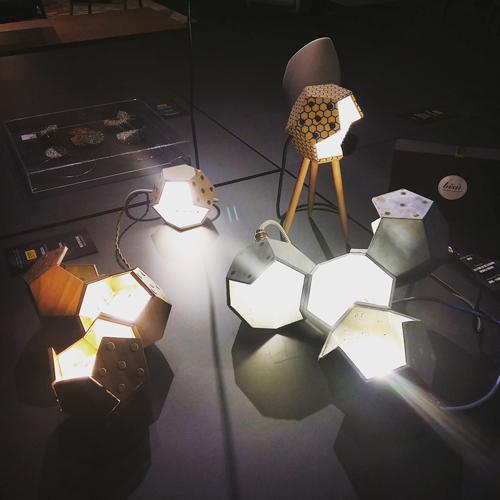 """Le lampade di Plato Design sono alcune delle proposte presenti all'interno dell'esposizione """"Lazio Creativo: Itinerari Di Design"""""""