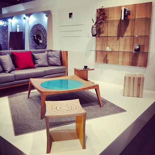 Living room di DEUTSU Architektur & Planungs-GbR