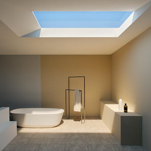 Il cielo in una stanza: CoeLux è una tecnologia che riproduce i raggi del sole dentro casa. L'invenzione, del fisico Paolo Di Trapani con un team di scienziati  italiani, è la combinazione di led, sistemi ottici e materiali nano strutturati; un aiuto per i Paesi che godono di poche ore di luce