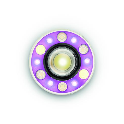 Tapio Rosenius, l'inventore per Artemide, idea Light over Time (LoT): un proiettore e un software per modulare in tempo reale l'illuminazione. È possibile  regolare l'apertura del fascio luminoso, scegliere la tonalità e l'intensità  della luce, per creare scenari e atmosfere sempre diverse