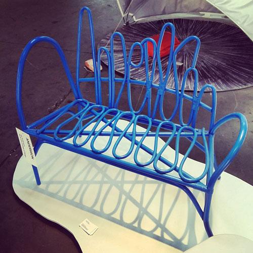 Questo divano di Lisa Andersson fa parte del progetto New Way Out che ha visto anche la collaborazione di Ikea