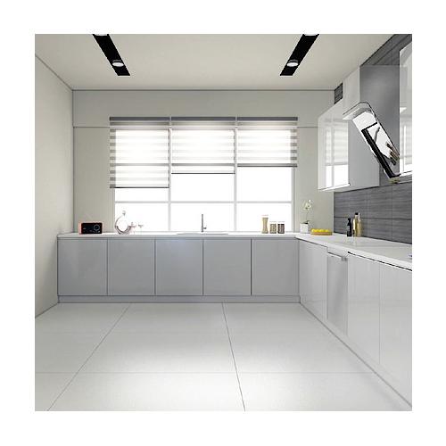 Grundig presenta Vux, il pannello di controllo che consente di gestire piano cottura, lavastoviglie e cappa da un'unica interfaccia. Un proiettore integrato nella cappa aspirante visualizza il pannello virtuale direttamente sulla superficie del piano di lavoro