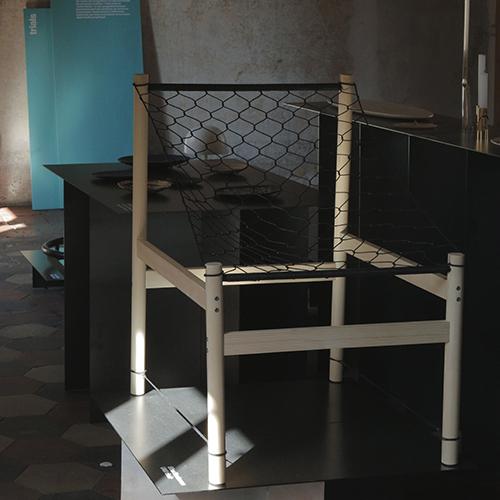 La sedia Umi di Elisa Honkanen