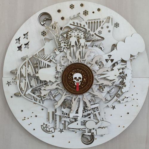 """Orologio """"Voyages extraordinaires"""" di Claudio Colucci per Head Genève"""