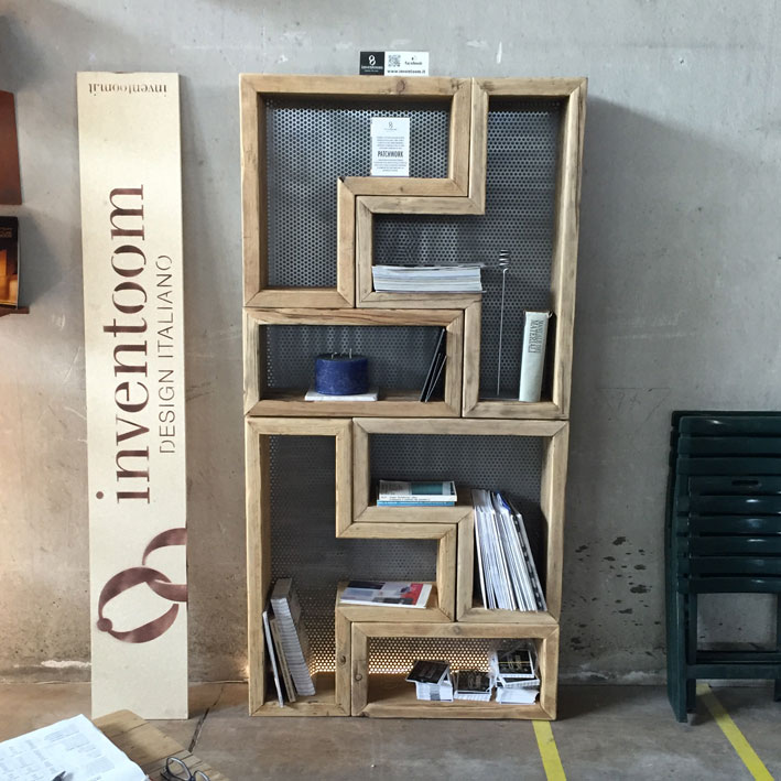 "Libreria componibile ""Patchwork"" di Inventoom"