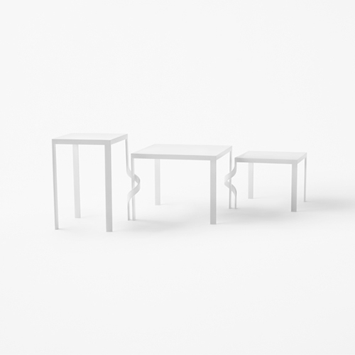 Tavolini Tangle table per Cappellini