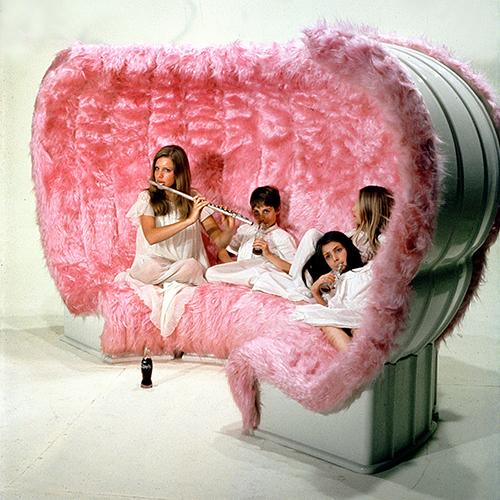 Bazaar, Giovannetti, 1969, divano componibile (foto C. Toraldo di Francia)