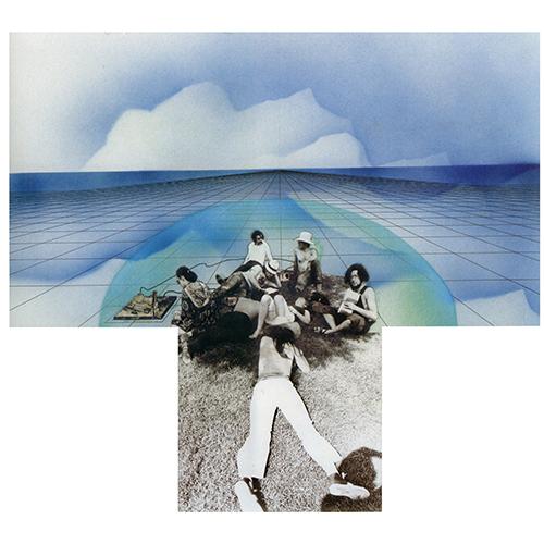 Gli Atti Fondamentali, Vita (Supersuperficie), San Martino alla Palma, 1972, collage