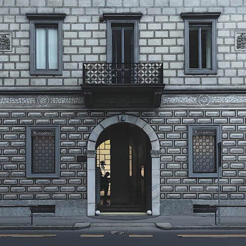Lo showroom di Rimadesio a Milano