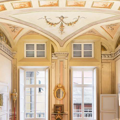 Palazzo Ravaschieri a Chiavari (Genova)