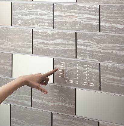 Connected Life, un esempio di parete interattiva con circuiti elettronici integrati