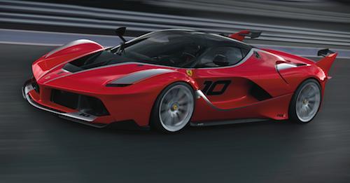 Ferrari - FXX K, categoria Design per la mobilità,  progettata da  Flavio Manzoni con Werner Gruber, Ferrari Design, per la Ferrari.   Compasso d'Oro per automobili di grande artigianalità industriale che rispecchiano i valori della Ferrari e del made in Italy, riconoscimento a un team formidabile che incarna i valori di un marchio storico
