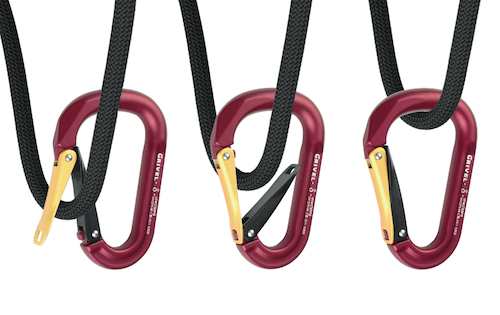 Twin Gate, categoria Design per la persona,  progettato da   R&D Grivel con Maurizio Gallo e prodotto da Grivel  Compasso d?Oro per un oggetto specialistico che migliora significativamente tutela e sicurezza nel rispetto della semplicità della forma