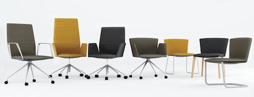 Vela, categoria Design per il lavoro, progettata da Lievore Altherr Molina e prodotta da  Tecno  Compasso d'Oro per una ricerca che risulta in un prodotto elegante, leggero, tecnologico e solido integrando in modo brillante ergonomia ed estetica