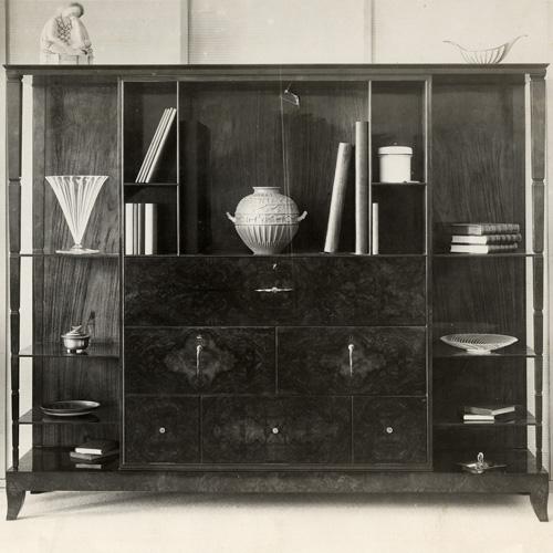 Uno scorcio della Sezione inglese, Il design prima del design, presso la Villa Reale di Monza fino all'11 settembre