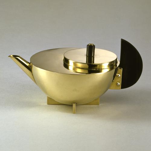 Marianne Brandt, Tee Extraktkänchen (1924), Bauhaus Archiv, collezione permanente al Museum für Gestaltung di Berlino
