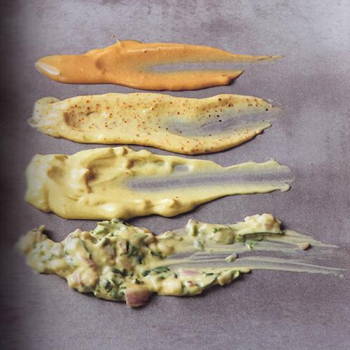 Un capitolo di Barbecue & Plancha è dedicato alle salse per dare più gusto alla cottura alla brace