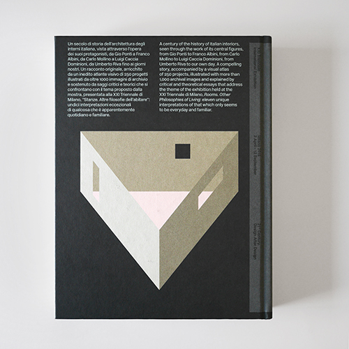 Il volume raccoglie oltre 250 progetti illustrati da più di 1.000 immagini di archivio. I testi sono in italiano e inglese