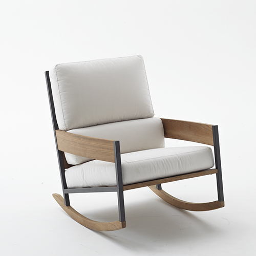 Nap Rocking Chair di Roda