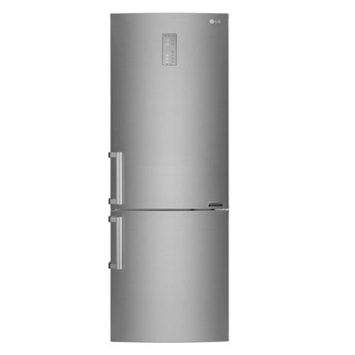 Lg, Centum Refrigerator. Il frigorifero combinato della linea Centum System, grazie al Compressore Lineare Inverter e alla tecnologia Total No Frost, assicura un'ottima conservazione dei cibi (A+++ -20°C). La garanzia è valida 10 anni