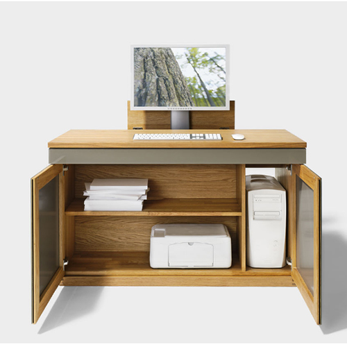 Piccoli spazi l home office c ma non si vede casa design - Mobile per pc ikea ...