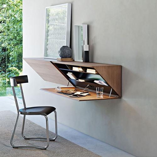 Piccoli spazi l home office c ma non si vede casa for Scrivanie casa design