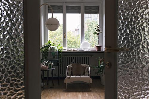 Una parte del salotto di casa