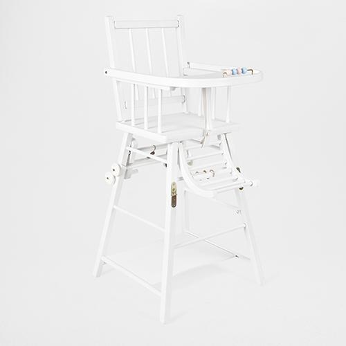 Il seggiolone di Zara Home si trasforma in sedia e tavolino
