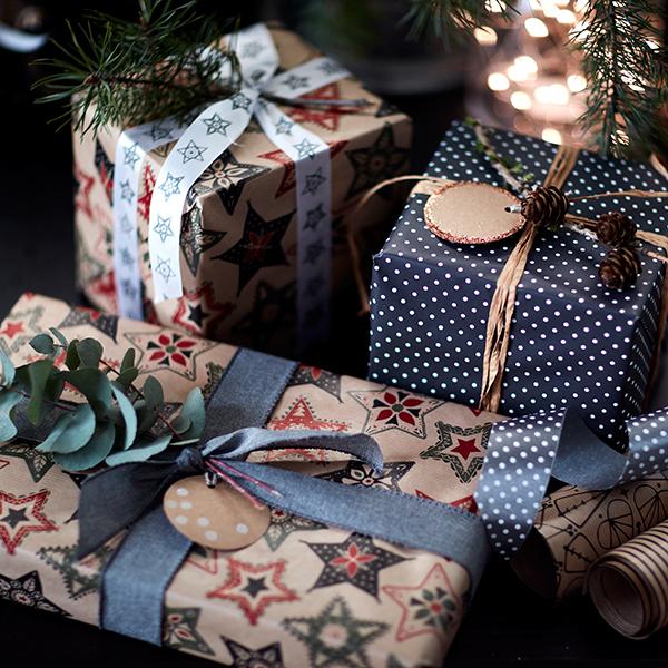 Pacchetti natalizi firmati Ikea