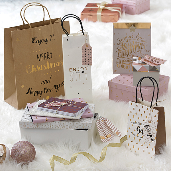 Set buste Enjoy your gift di Maisons du Monde (prezzo 3,99 euro)