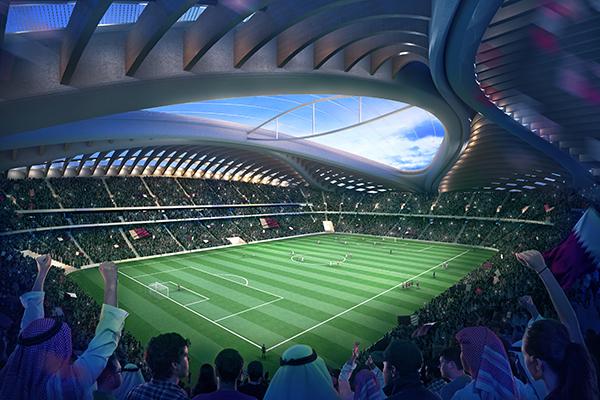 Al-Wakrah Stadium dello Zaha Hadid Architects